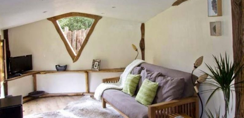 Lord of the Rings fans can stay overnight in a hand-built Hobbit House