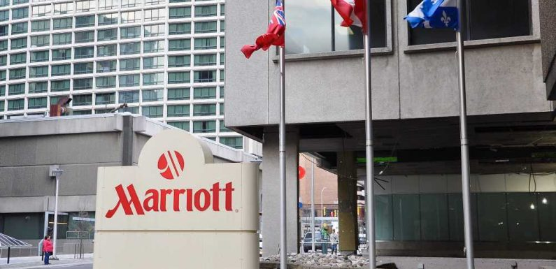 Marriott reports big jump in occupancy and rates