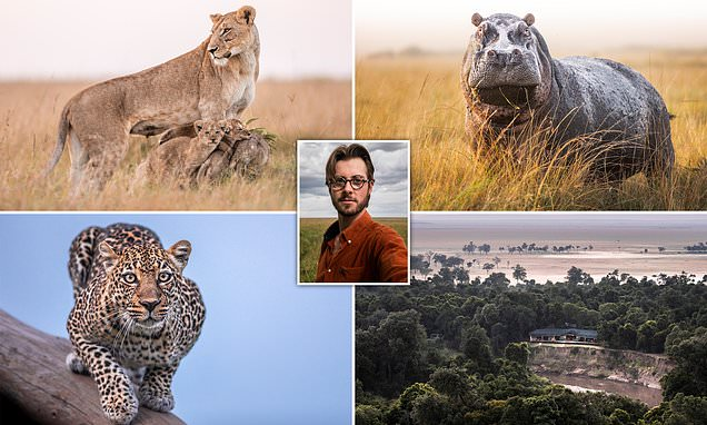 Meet the photographer who's stuck on a reserve in Kenya, and loving it