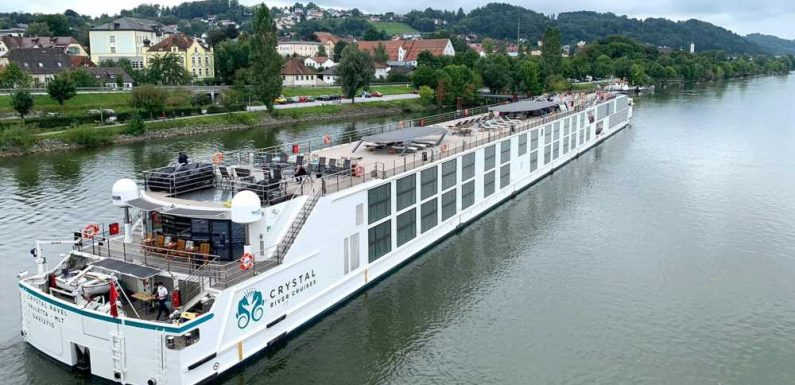 Oceania and Crystal River Cruises return to service