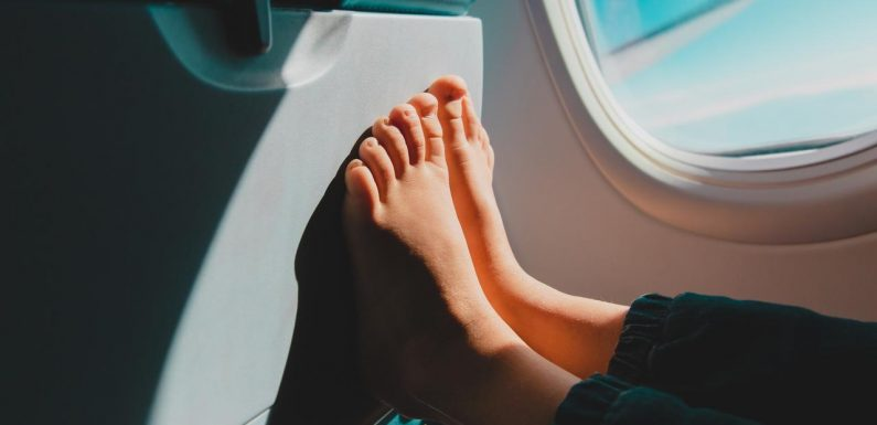 One thing you shoudn't do on a plane