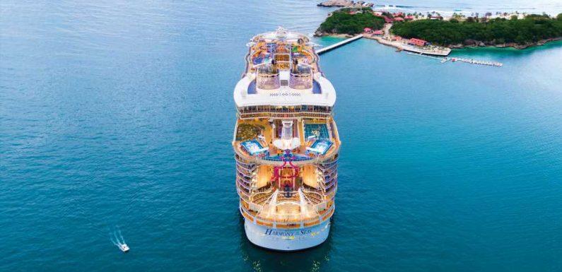 Royal Caribbean's Harmony of the Seas back in service