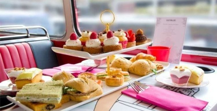 Sip and see the London sites on a gin-themed afternoon tea bus tour