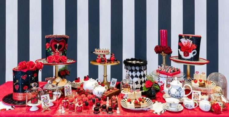Try this Alice in Wonderland themed afternoon tea at a luxury London spa