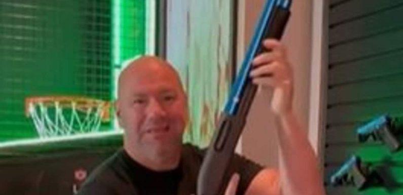 UFC boss Dana White gives glimpse inside insane hotel suite