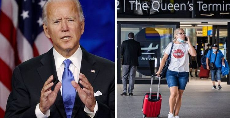 US travel ban: Biden 'wishing' to accept fully-vaccinated UK visitors in a matter of weeks