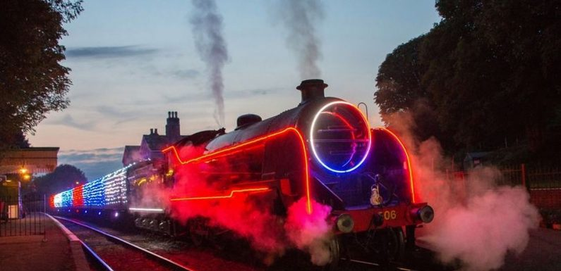 You can travel through 'snow' on magical interactive steam train this Christmas