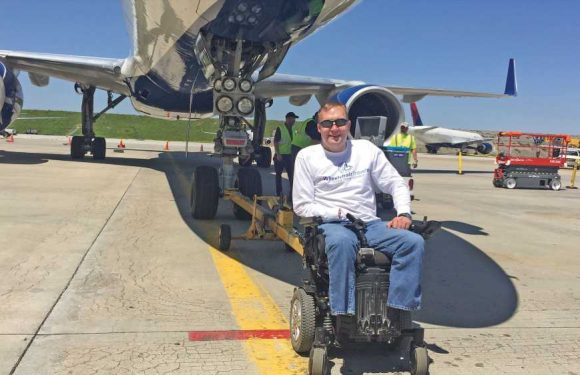Airlines can secure personal wheelchairs in the cabin. Will they?