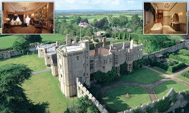Britain at its best: Thornbury, where Henry VIII romanced Anne Boleyn