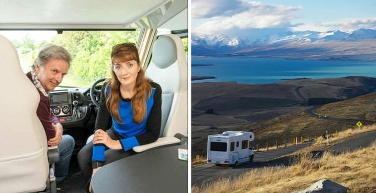 Caravan holidays: Merton and Webster fall in love with tiny 'homey' van – 'it has a bar!'
