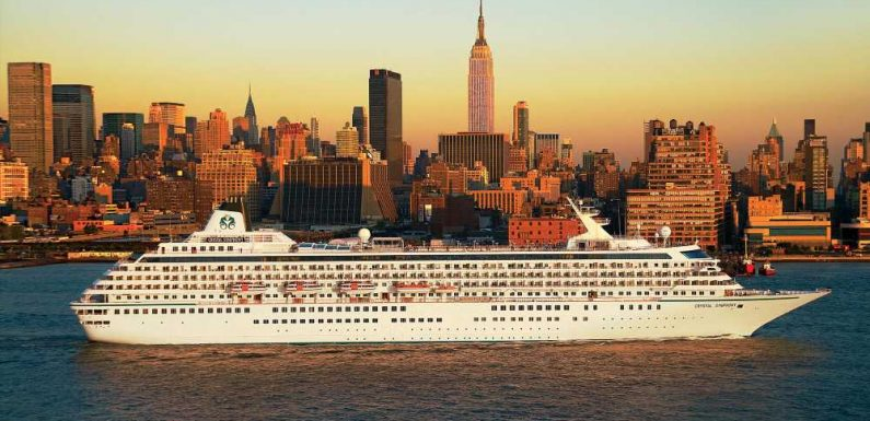 Cruising from New York City returns with Crystal's Bermuda sailings