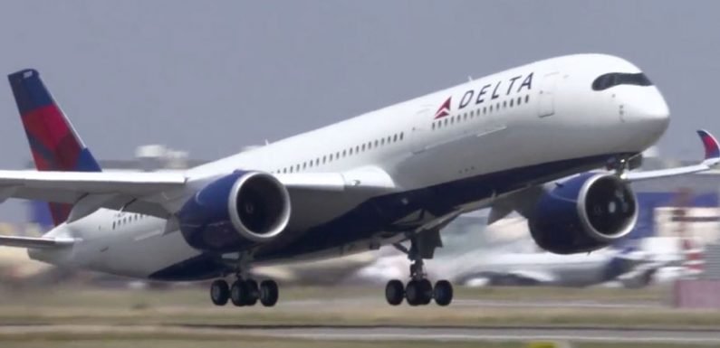 Delta Air Lines study highlights benefits of Covid-19 testing requirements