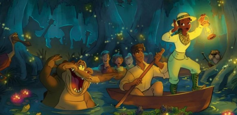 Disney shares first look at Princess and the Frog ride replacing Splash Mountain