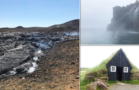Iceland's hotting up: Holiday in the land of Fire and Ice – thermal pools and volcanoes