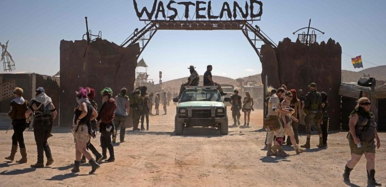 Inside Mad Max inspired post-apocalyptic festival full of fishnets and leather