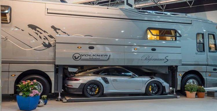 Million-pound motorhomes: Inside 'Downtown Abbey on wheels' – £1.8m luxury caravan