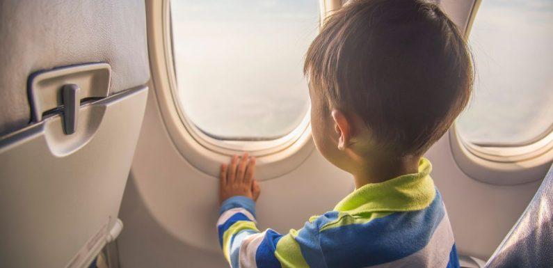 Mum brands stranger 'spiteful' after refusing to entertain her son on flight