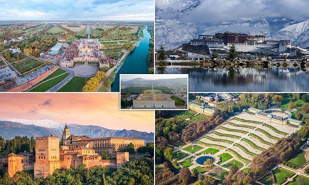 Pictured: The world's most spectacular palaces, from Hawaii to the UK