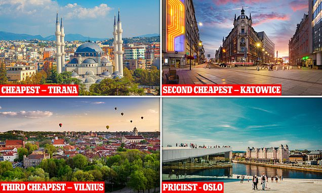 Revealed: The cheapest European cities for a weekend break