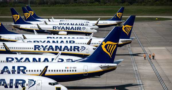 Ryanair shares its best seats on the plane for legroom and getting sleep