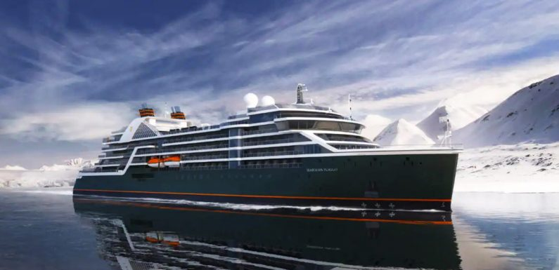 Seabourn's second expedition ship will be the Pursuit