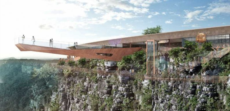 South Africa's first skywalk will be a doozy
