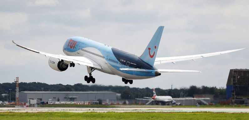 TUI cancels flights and holidays ahead of UK government travel announcement