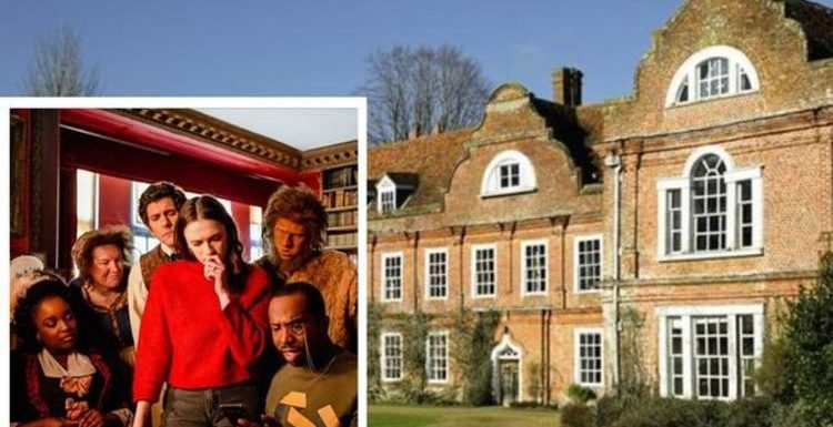 Take a spooky tour around the historic house where BBC's hit show 'Ghosts' is filmed