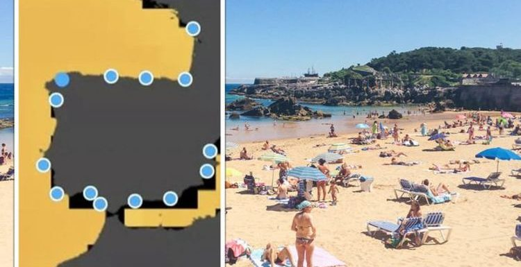 The 12 Spanish tourist hotspots that could be underwater by 2100 – MAPPED