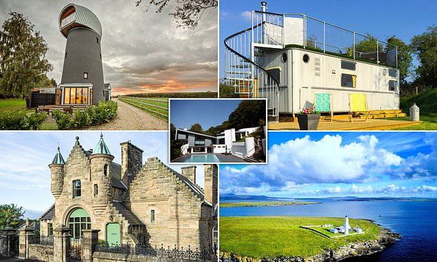 The 20 most unusual places to stay in Britain revealed