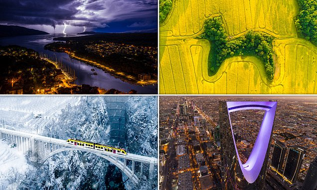 The incredible winners of the 2021 Drone Awards unveiled