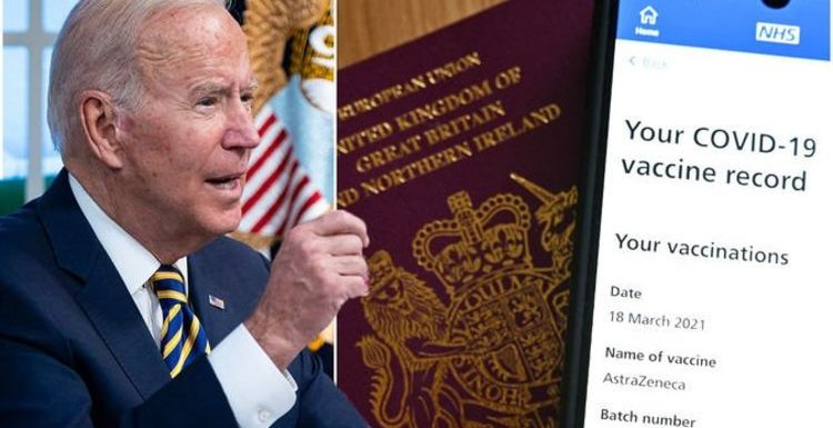US holidays back on as Biden lifts ban on Britons – what will the new travel rules be?