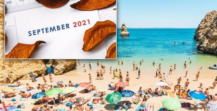Where in Europe is hot in September? The top 10 destinations that AREN'T on the red list