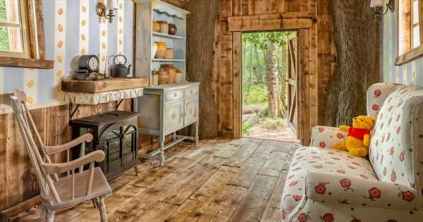 Winnie the Pooh-inspired house in Hundred Acre Wood can be rented on Airbnb