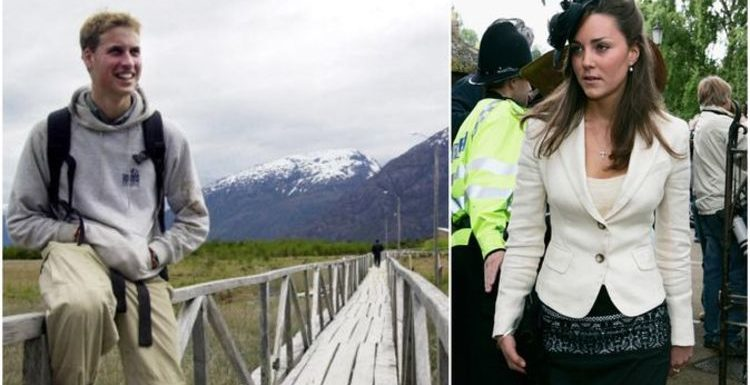 Year off: Kate Middleton and William's gap year travels to Florence and Chile