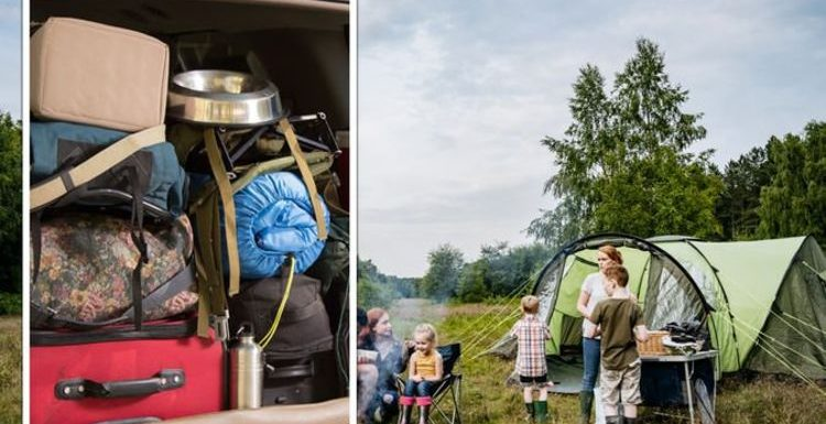Campers' tips on packing a car for a camping trip – 'sacrifice a child!'