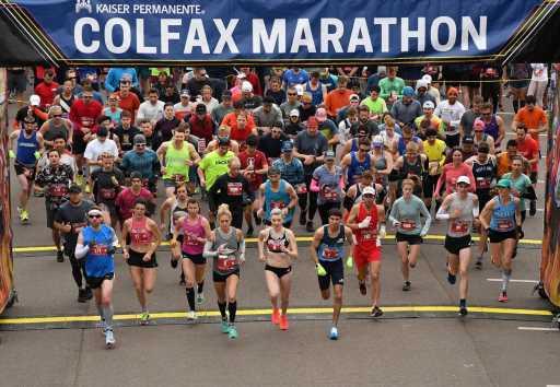 Colfax Marathon street closures: View the map for Denver's Oct. 16 race