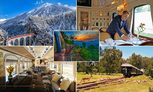 Discover the world in a new light on board these luxury trains