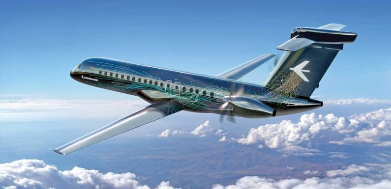 Efficient. Environment-friendly. Prop planes are in the spotlight