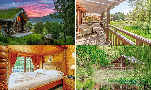 Embrace Britain's natural beauty in these five lakeside log cabins