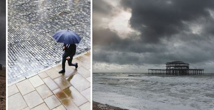 Great British weather: Greyest locations in the UK named – which came top?
