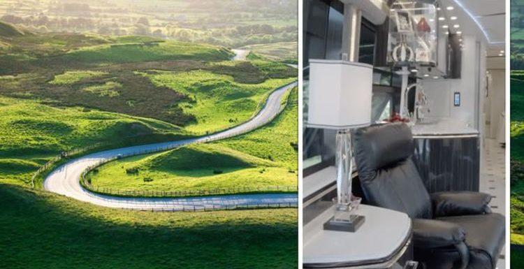 Million Pound Motorhomes: Inside the 'ultimate' £1.8 million caravan with heated floors