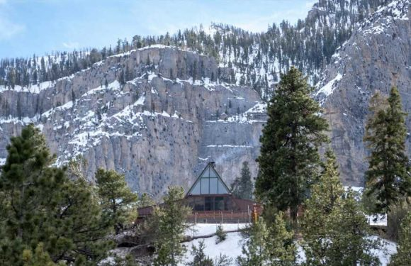 Mount Charleston Lodge will rise again above Las Vegas