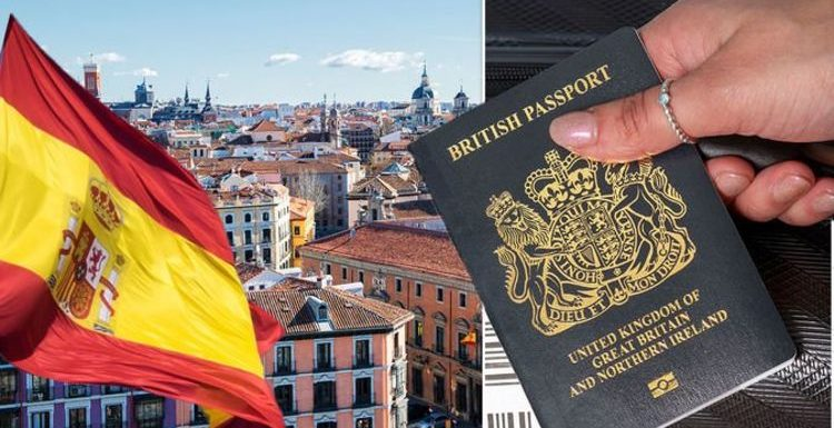 Passport warning for Britons heading to Spain – what rules must Brits follow?