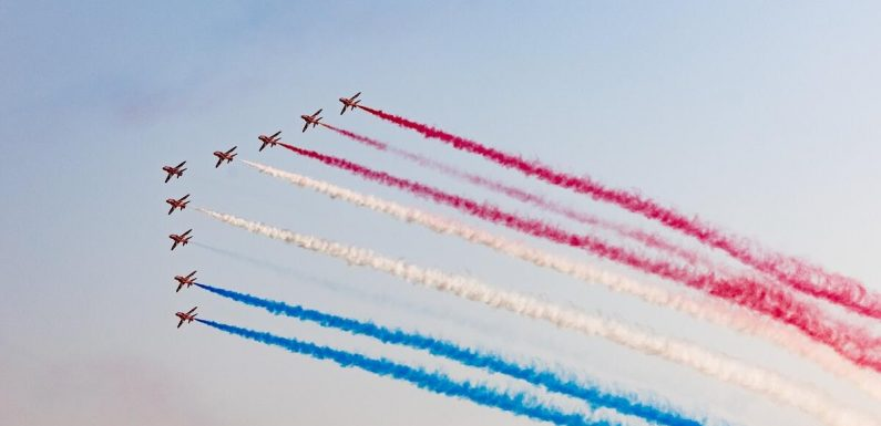 Red Arrows commander hails Expo site as 'phenomenal' after Dubai display