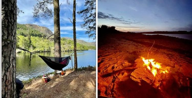 Wild camping's 'unwritten rule' and guidelines from a wild camper – 'common sense'